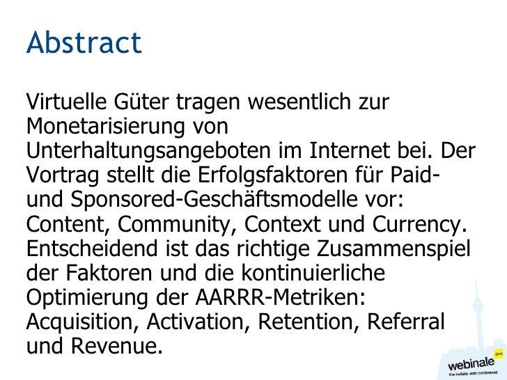 Cash = Community * Context * Content * Currency Martin Szugat, SnipClip GmbH