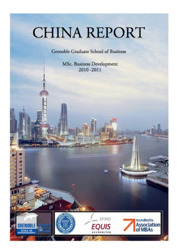 GGSB Study China Residency Report 2011                         ...