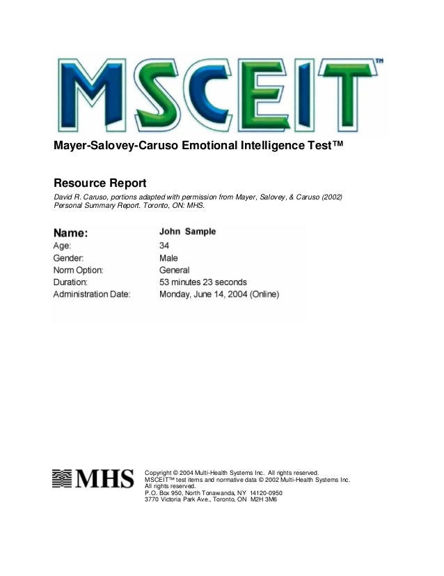 a report on the intelligence test 1 chc theory impact on iq tests: brief report kevin s mcgrew, phd chc theory of intelligence and its impact on contemporary intelligence test batteries.