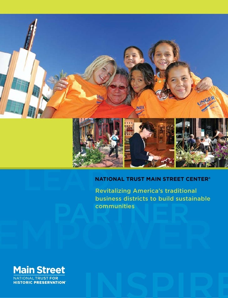 lead        national trust main street center®     h        revitalizing america's traditional        business districts t...