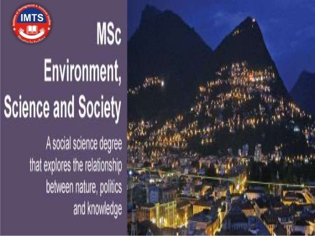 M sc environmental science distance education courses apply admission