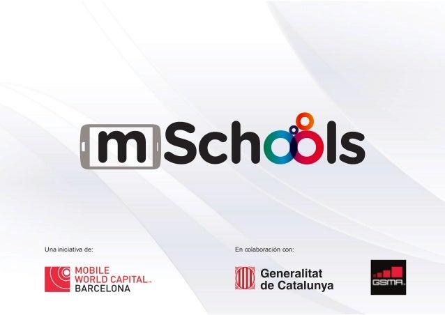 Presentación del programa mSchools - Mobile World Capital Barcelona