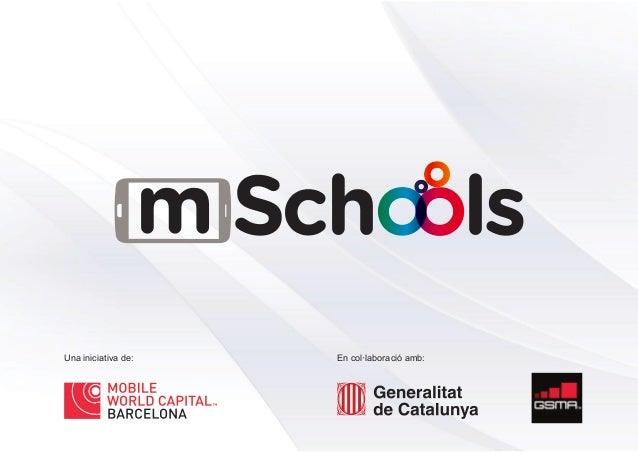 Presentació del Programa mSchools - Mobile World Capital Barcelona