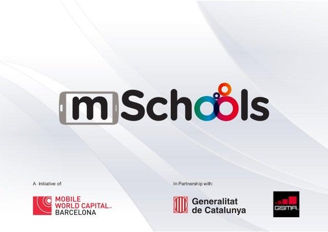 mSchools Program Presentation - Mobile World Capital Barcelona