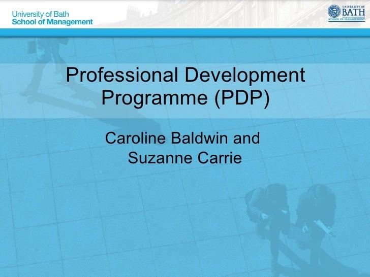 Professional Development Programme
