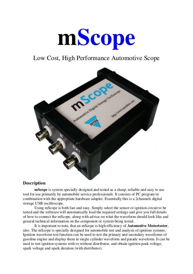 Mscope brochure EN