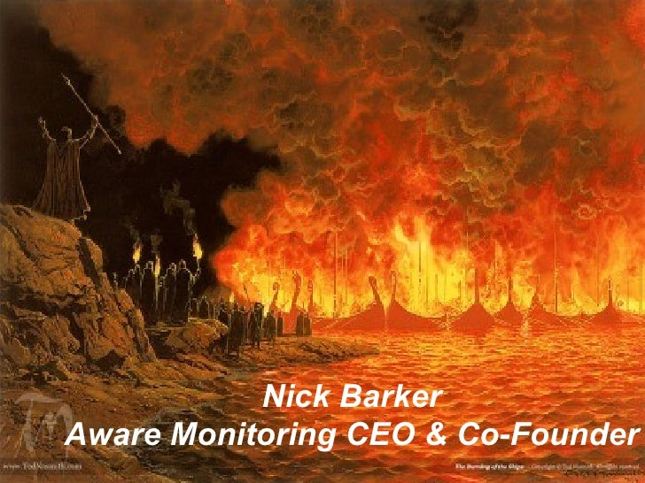 Nick Barker Aware Monitoring CEO & Co-Founder