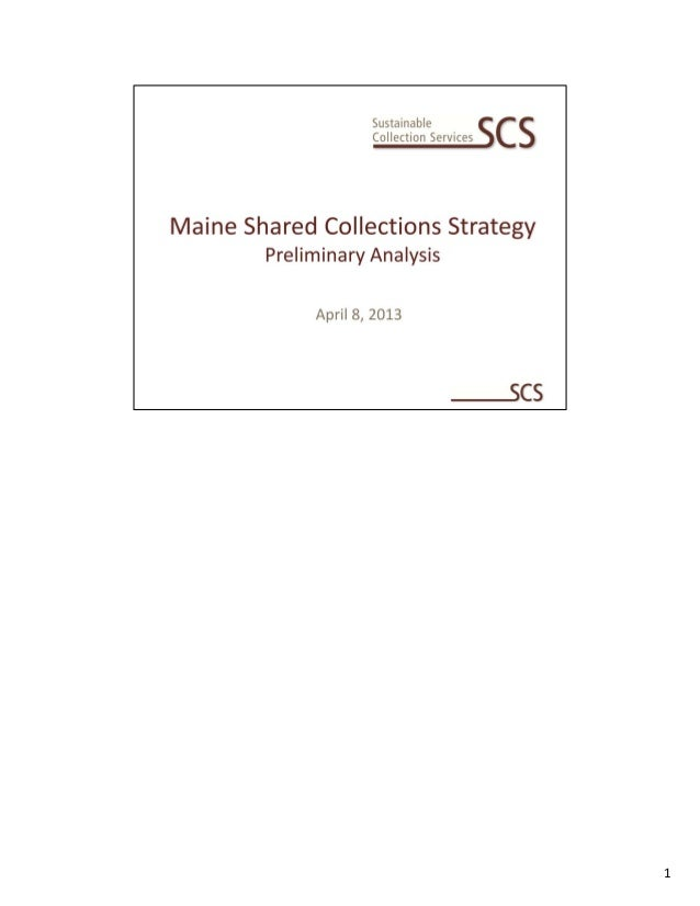 MSCS Preliminary Analysis