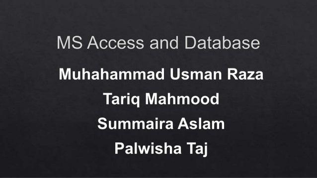 Database,, bba 1