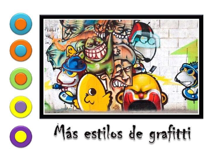 Más estilos de grafitti<br />