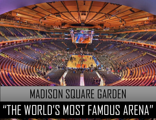 Madison Square Garden The Madison Square Garden Company Basketball Scores
