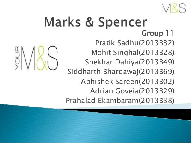 marks and spencer harwrd case soln (scmhrd,sidd)