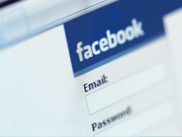  Fecha de lanzamiento: Febrero de 2004  CEO: Mark Zuckerber  Usuario tipo: mujer entre 25 y 44 años  Número de usuario...