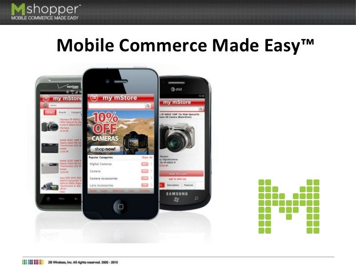 Mobile Commerce Made Easy™