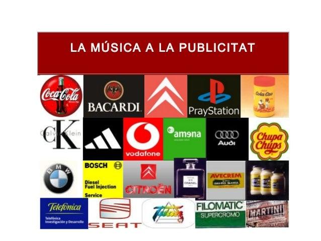 LA MÚSICA A LA PUBLICITAT