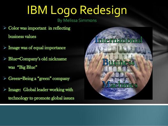 IBM Logo Redesign Project
