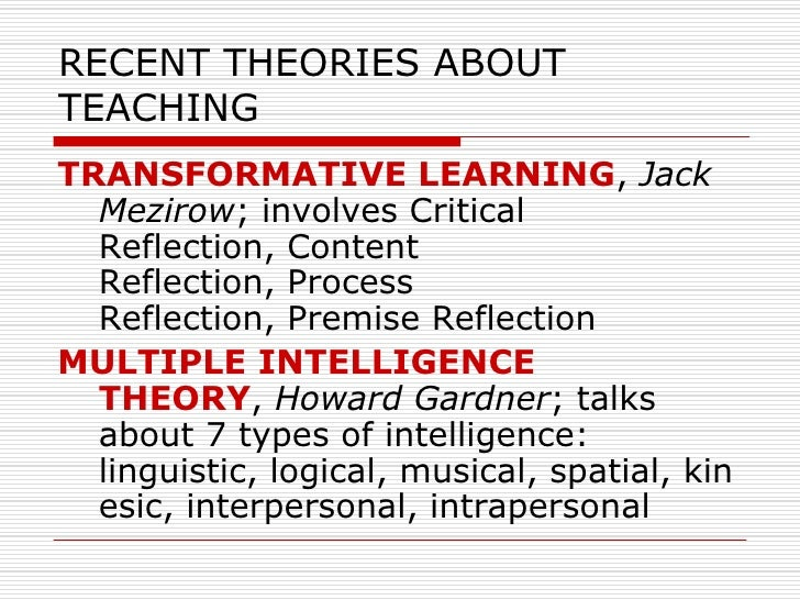 jack mezirow identified seven stages of transformational Jack mezirow jack mezirow developed transformative learning theory starting in 1978 since then, the theory has evolved into a comprehensive and complex description of how learners construe, validate, and reformulate the meaning of their experience.