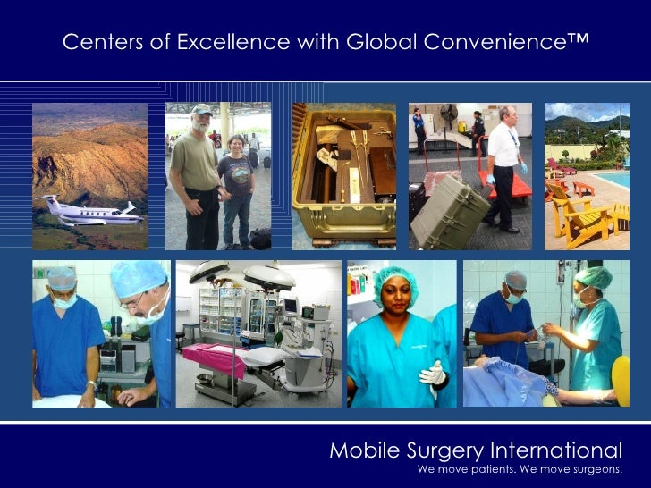 Centers of Excellence with Global Convenience™