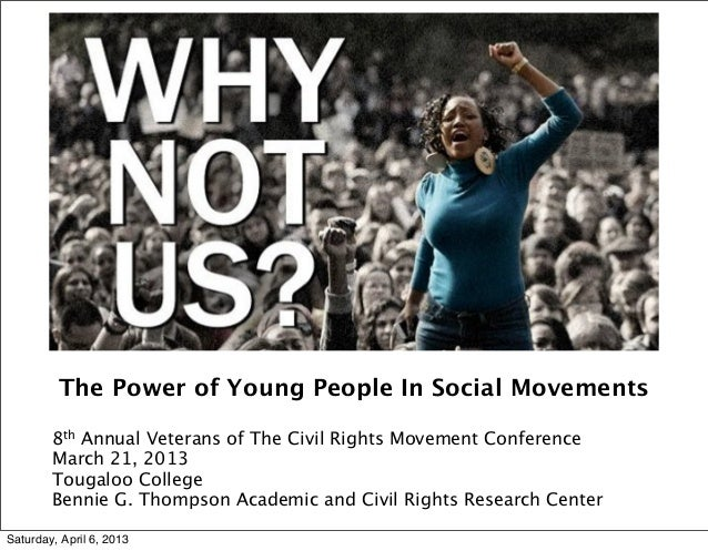 Power of Young People in Social Movement