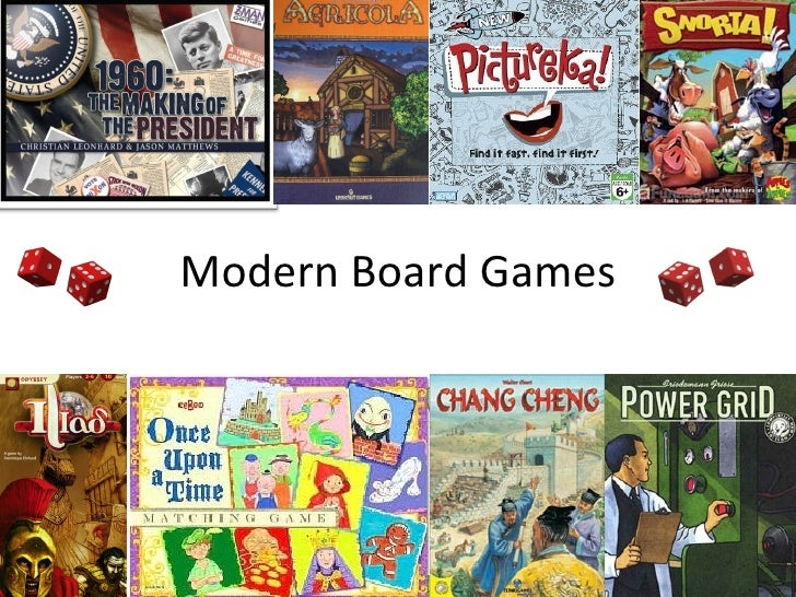 Modern Board Games and the 21st Century Learner