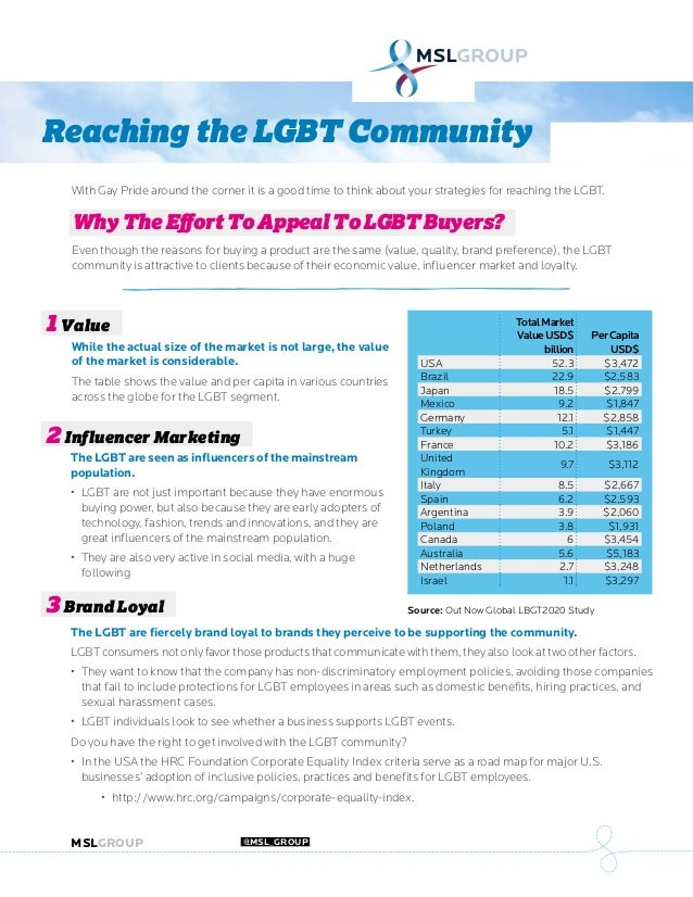 MSLGROUP.COM @MSL_GROUP With Gay Pride around the corner it is a good time to think about your strategies for reaching the...