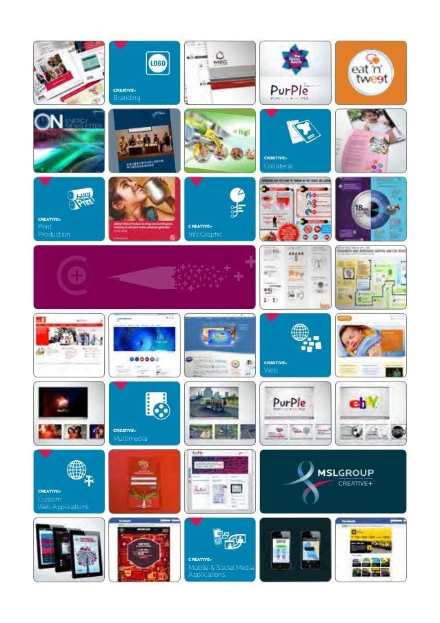 MSLGROUP CREATIVE+ brochure