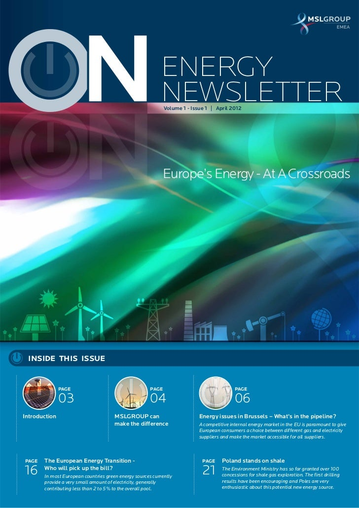 ENERGY                                                           NEWSLETTER                                               ...