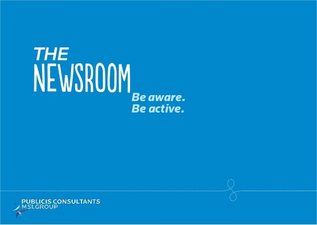 The Be aware. Be active. NEWSROOM