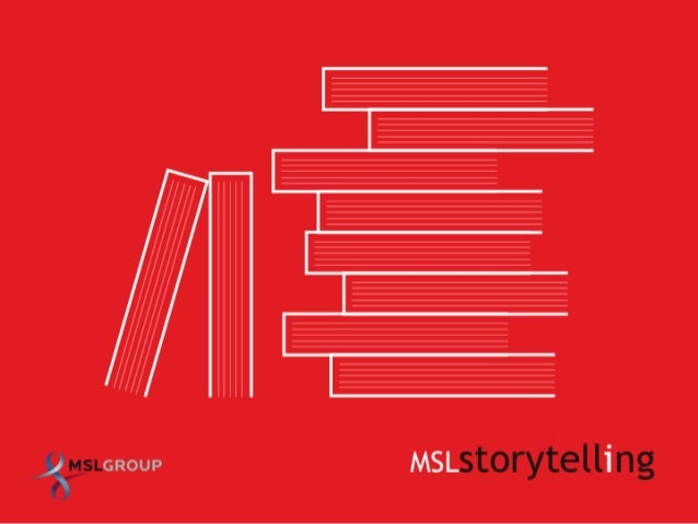MSLGROUP Storytelling