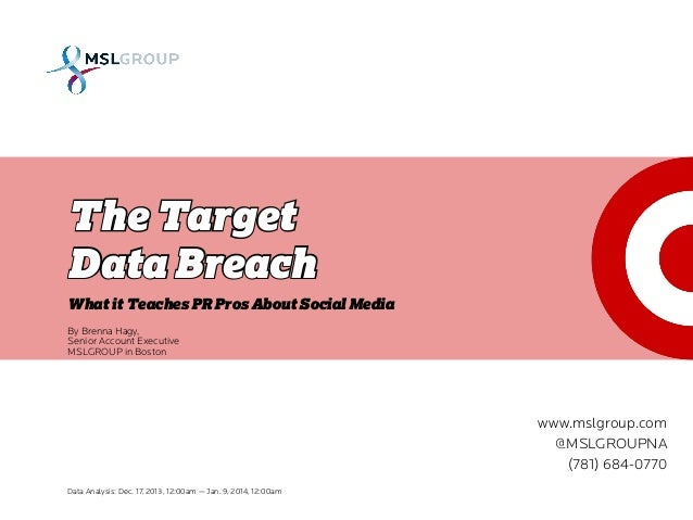 The Target Data Breach: 3 Lessons For PR Pros
