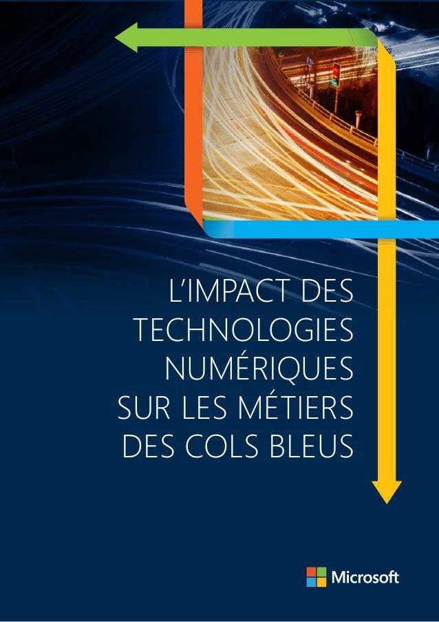 L'impact des technologies numériques sur les métiers des Cols Bleus