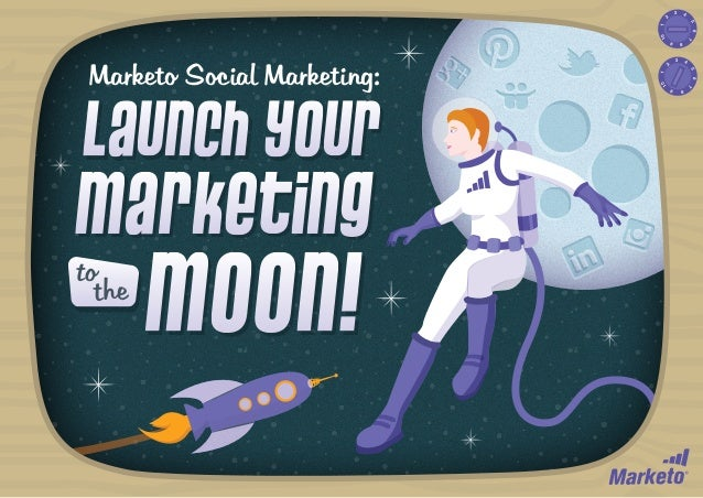 3  2  4  1  5 7  10  6 8  9  1 10  9  MOON!  8  to the  7  Marketing  6  Launch Your  4 5  Marketo Social Marketing:  3  2