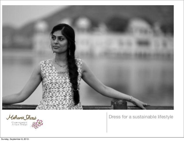 Marketing Portfolio for Mehera Shaw 2013