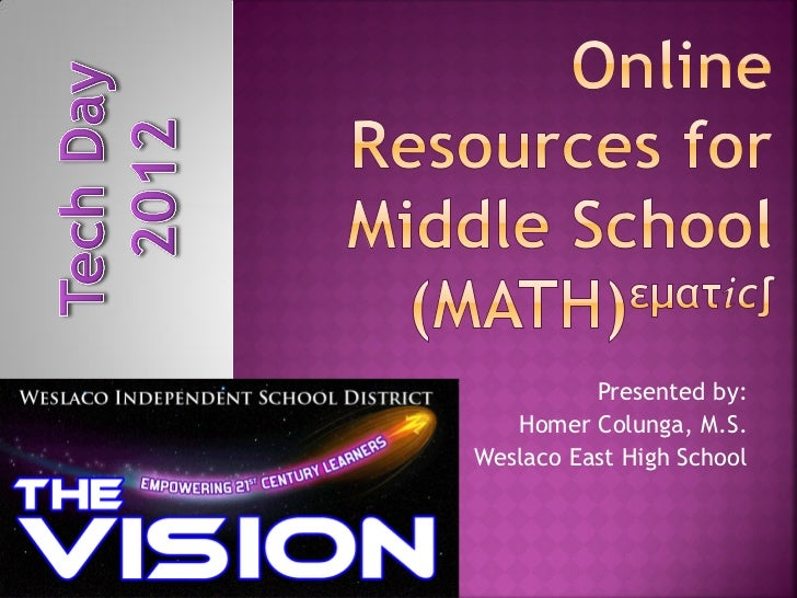 WISD TechDay 2012