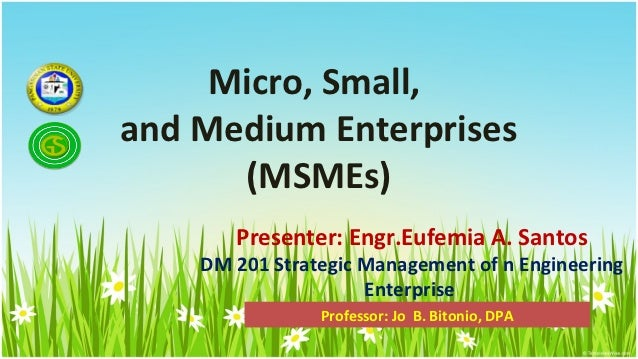 msme business plan