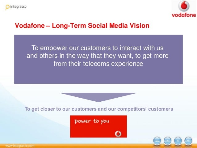vodafone case study on employee engagement On compliance measures such as process and scheduling audits most of its  stores focused on excelling at short-term operational imperatives — generally.