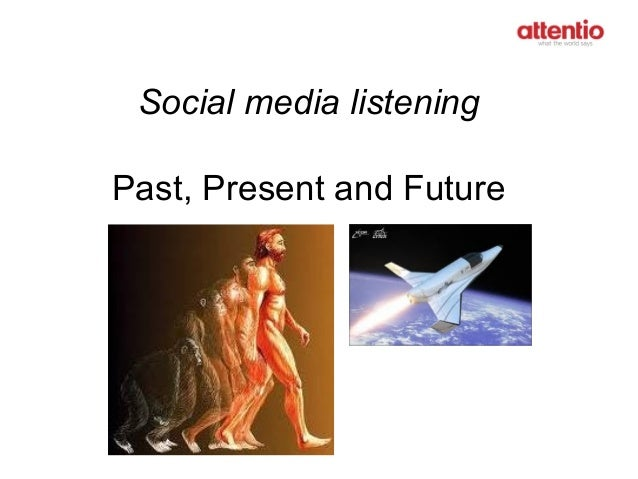 Social media listening Past, Present and Future