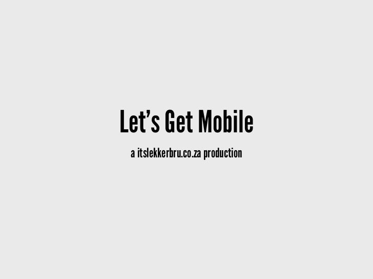 Mobile Marketing in South Africa