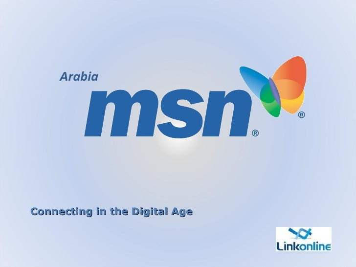 Connecting in the Digital Age Arabia