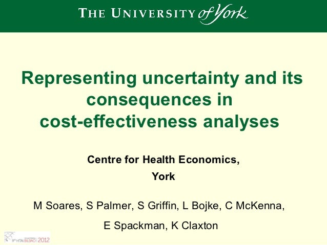Representing uncertainty and its consequences in cost-effectiveness analyses
