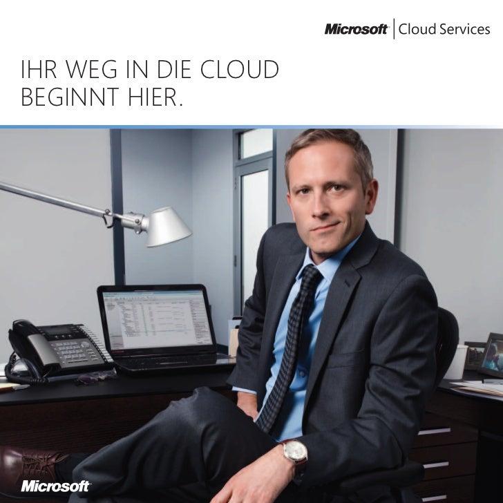 Ihr Weg in die Cloud beginnt hier - MS Online Services