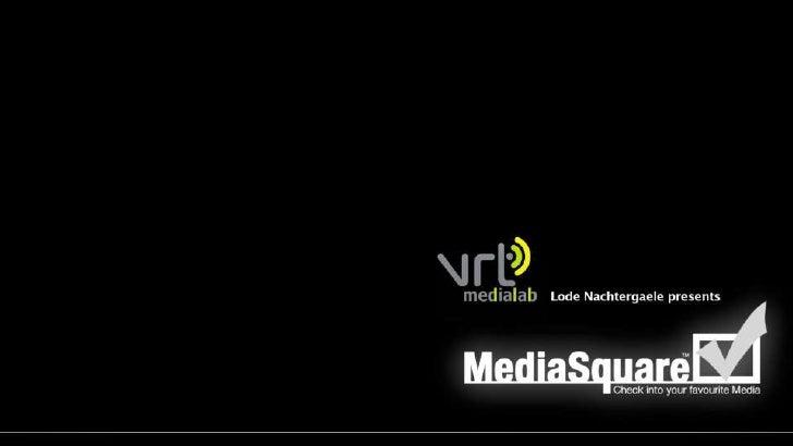 MediaSquare - Check into your favourite media
