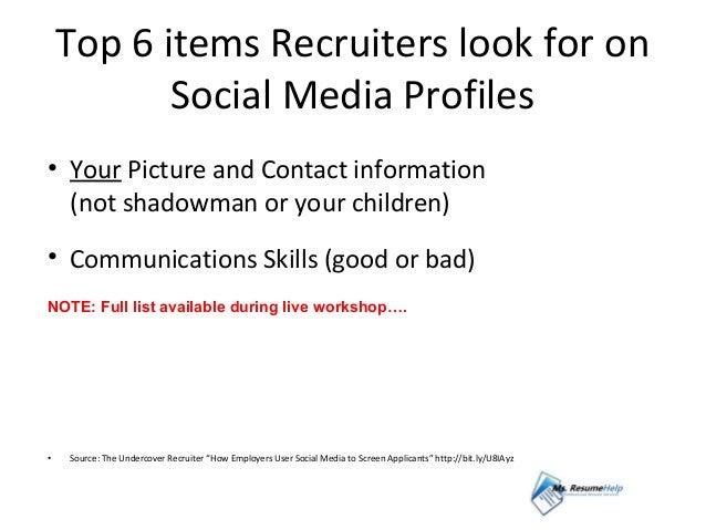 Cnn resume tips 2011