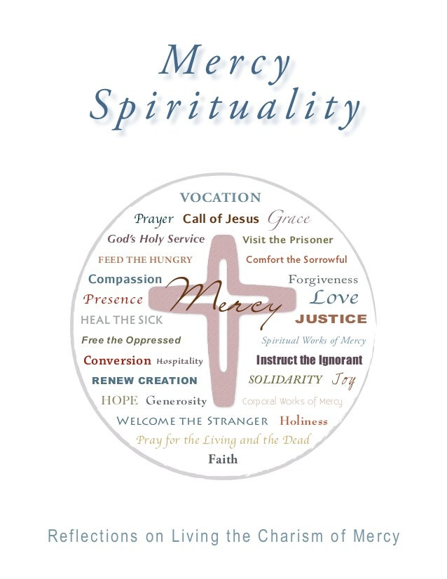 Mercy     Spirituality                      VOCATION             Prayer Call of Jesus Grace        God's Holy Service     ...