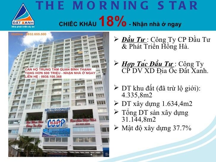 Mstar.Căn Hộ Morning Star quận Bình Thạnh.Tặng gần 600trieu.Nhận nhà ngay.