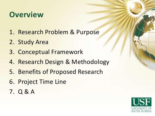 Environmental research proposal