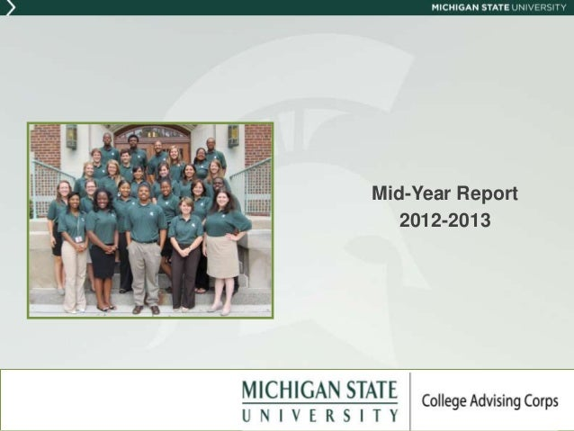 Mid-Year Report   2012-2013