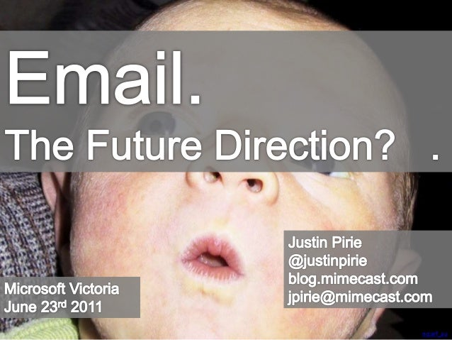 Email: The Future Direction