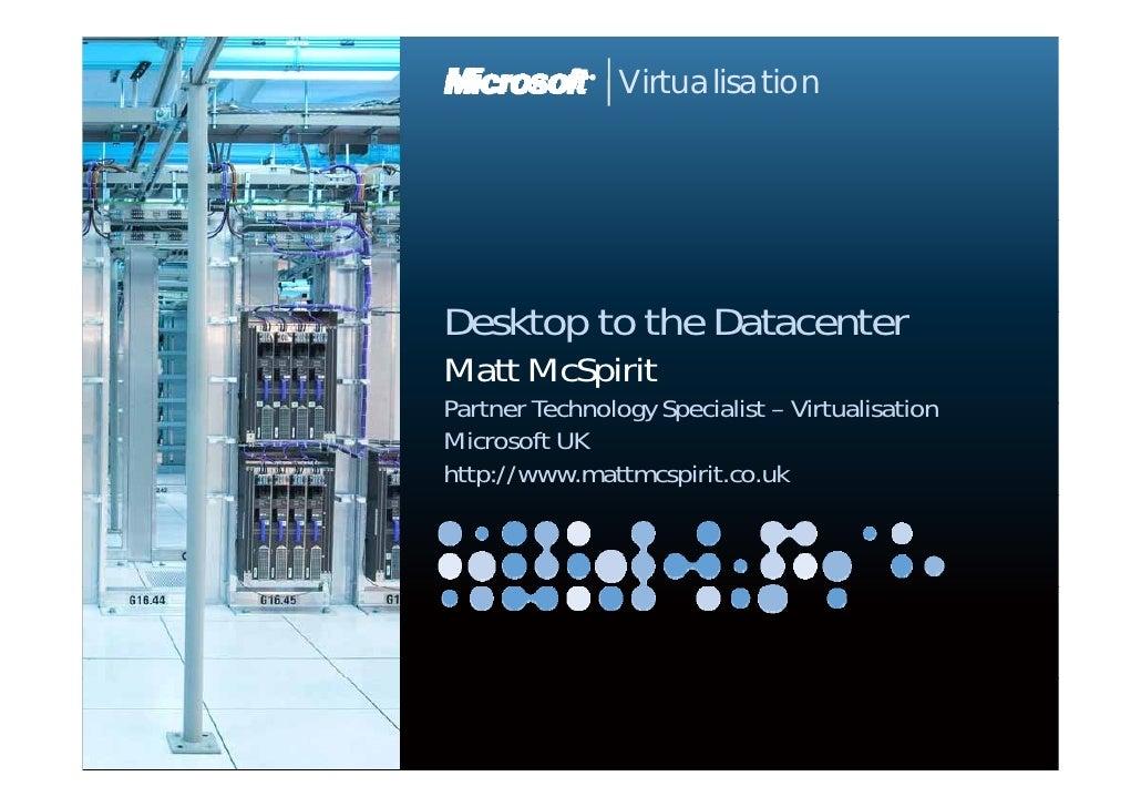 21.10.09 Microsoft Event, Microsoft Presentation