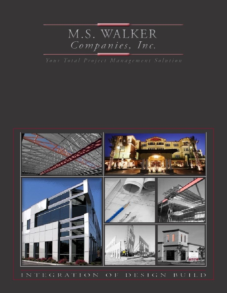 M.S. Walker: Company Brochure